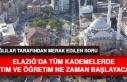 Elazığ'da Tüm Kademelerde Okullar Ne Zaman...