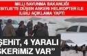 Milli Savunma Bakanlığı Bitlis'te Düşen Askeri...