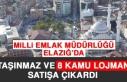 Milli Emlak Müdürlüğü Elazığ'da Taşınmaz...