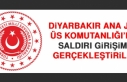 Diyarbakır Ana Jet Üs Komutanlığı'na Saldırı...