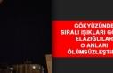 Elazığ'da Gökyüzünde Sıralı Yıldızlar...
