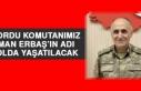 Kolordu Komutanımız Osman Erbaş'ın Adı O Yolda...
