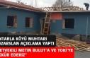 Köy Muhtarından, Milletvekili Bulut ve TOKİ'ye...