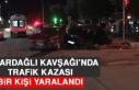 Hazardağlı Kavşağı'nda Trafik Kazası