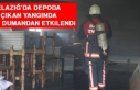 Elazığ'da Depoda Çıkan Yangında 1 Kişi Dumandan...
