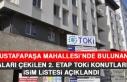 Kuraları Çekilen Mustafapaşa Mahallesi 2. Etap...