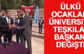 Ülkü Ocakları Üniversite Teşkilat Başkanı Değişti