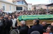 İsviçre'deki trafik kazasında ölen 3 kişinin cenazesi Tunceli'de toprağa verildi