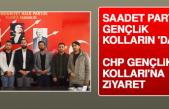 Saadet Partisi Gençlik Kolların 'Dan Chp Gençlik Kolları'na Ziyaret