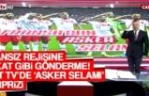 Fransız Rejisine Tokat Gibi Gönderme! Akit TV'de 'Asker Selamı' Sürprizi
