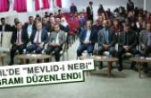 """Baskil'de """"Mevlid-İ Nebi"""" Programı Düzenlendi"""