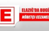 Elazığ'da 20 Kasım'da Nöbetçi Eczaneler