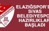Elazığspor'da Sivas Belediyespor Hazırlıkları Başladı