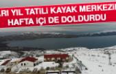 Yarı Yıl Tatili Kayak Merkezini Hafta İçi De Doldurdu