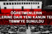 Öğretmenlerin İzinlerine Dair Yeni Kanun Teklifi TBMM'ye Sunuldu