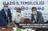 Memur Sen ile Mediline Hastanesi İndirim Protokolü İmzaladı