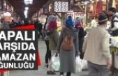 Kapalı Çarşıda Ramazan Yoğunluğu