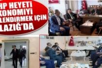 CHP Heyeti Ekonomiyi Değerlendirmek İçin Elazığ'da