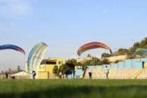 """Mardin'de """"yamaç paraşütü"""" eğitimi"""