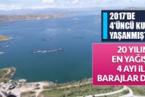 20 Yılın En Yağışlı 4 Ayı İle Barajlar Doldu