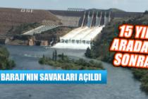 Keban Barajı'nda 15 Yıl Sonra İlk, Savaklar Açıldı