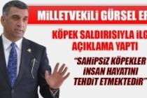 Milletvekili Erol, Köpek Saldırısıyla İlgili Açıklama Yaptı