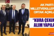 AK Parti Milletvekillerinden Ortak Açıklama