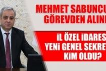 Kriz Büyüyor! Mehmet Sabuncu Görevden Alındı
