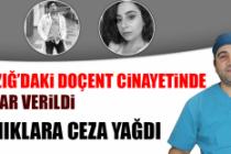 Elazığ'daki Doçent Cinayetinde Karar Verildi