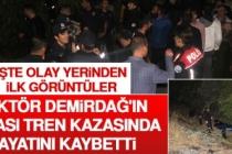 Rektör Demirdağ'ın Babası Tren Kazasında Hayatını Kaybetti
