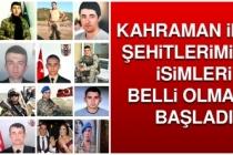 İdlib Şehitlerimizin İsimleri Belli Olmaya Başladı
