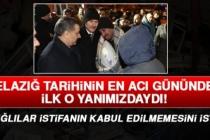 Elazığlılar Bakan Soylu'nun İstifasının Kabul Edilmemesini İstiyor