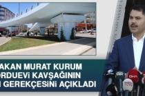 Bakan Kurum, Kavşağın Yıkım Gerekçesini Açıkladı