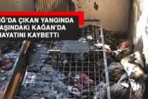 Elazığ'da Çıkan Yangında 4 Yaşındaki Kağan'da Hayatını Kaybetti