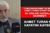 Ahmet Turan Kar Hayatını Kaybetti