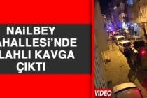 Nailbey Mahallesi'nde Silahlı Kavga Çıktı