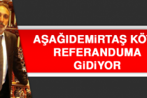 Aşağıdemirtaş Köyü Referanduma Gidiyor