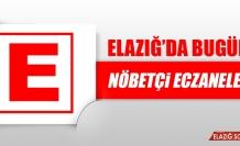 Elazığ'da 21 Ekim'de Nöbetçi Eczaneler
