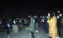 Ardahan Kalesi'nde BİLSEM öğrencilerine astronomi dersi