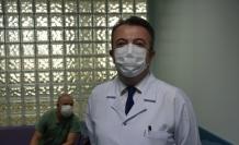 Çin'den getirilen Kovid-19 aşısı İnönü Üniversitesinde de denenmeye başlandı