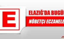 Elazığ'da 7 Kasım'da Nöbetçi Eczaneler