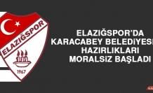 Elazığspor'da Karacabey Belediyespor Hazırlıkları Moralsiz Başladı