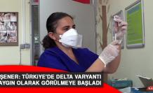 Prof. Şener: Türkiye'de Delta varyantı yaygın olarak görülmeye başladı