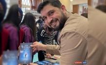 21 yılda yazılan kitaba fuarlarda yoğun ilgi