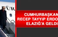 Cumhurbaşkanı Erdoğan Elazığ'a Geldi