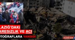 Elazığ'daki Çaresizlik ve Acı Fotoğraflara Yansıdı