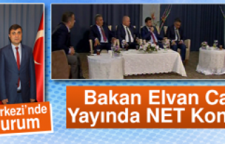 """Anadolu'da Referandum"" programının konuğu..."