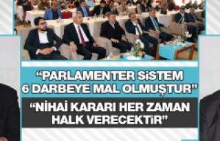 """""""Anayasa Sistem Değişikliği"""" Paneli Düzenlendi"""