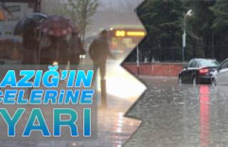 5 İlçe İçin Kuvvetli Yağış Uyarısı