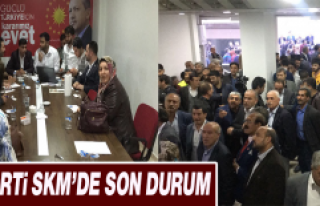 AK Parti SKM'de Son Durum